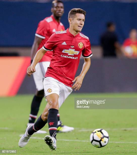 Ander Herrera of Manchester United against Manchester City at NRG Stadium on July 20 2017 in Houston Texas