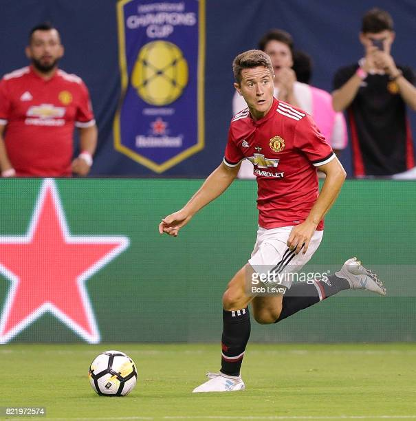 Ander Herrera of Manchester United at NRG Stadium on July 20 2017 in Houston Texas
