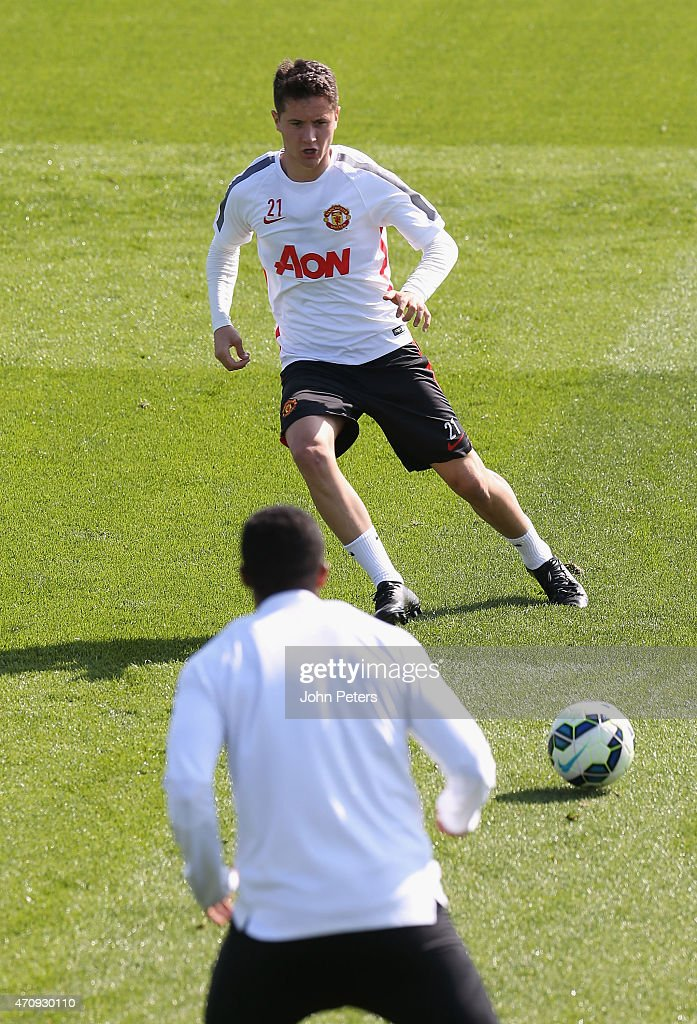 manchester united training session and press conference getty images. Black Bedroom Furniture Sets. Home Design Ideas