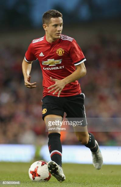 Ander Herrera of Manchester United in action during the International Champions Cup preseason friendly match between Manchester United and Sampdoria...
