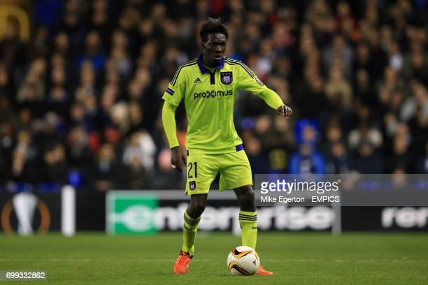 Anderlecht's Fabrice N'Skala during the UEFA Europa League match at White Hart Lane London