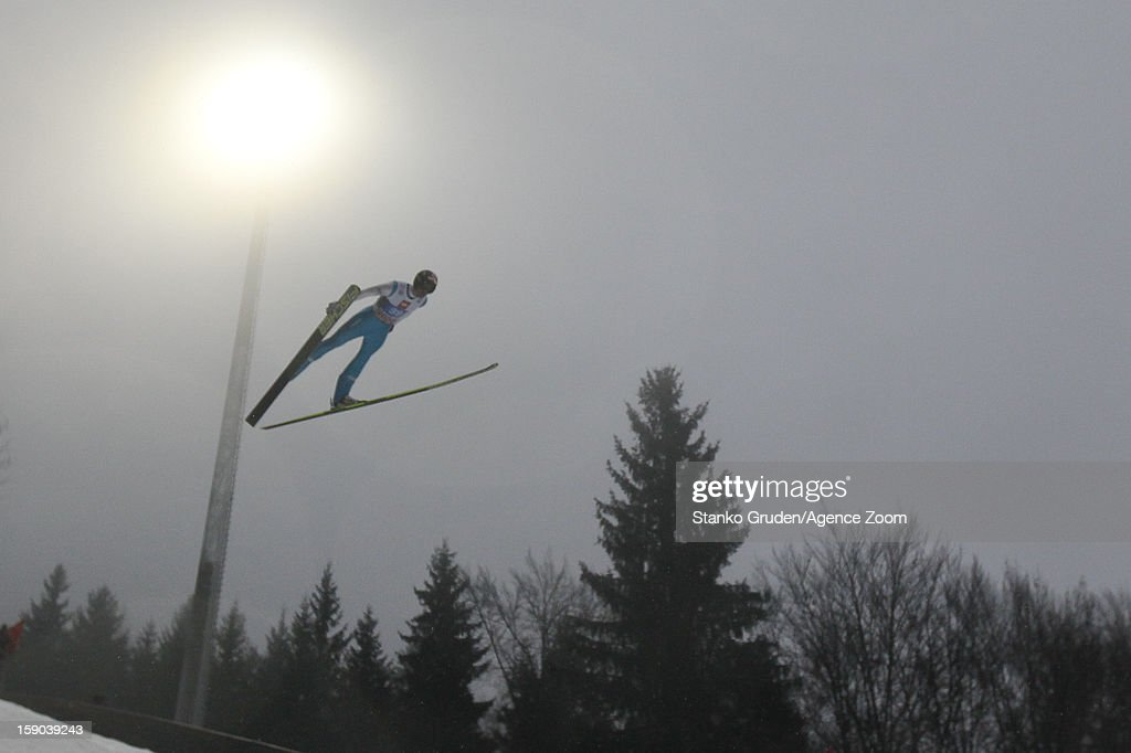Anders Bardal of Norway during the FIS Ski Jumping World Cup Vierschanzentournee (Four Hills Tournament) on January 06, 2013 in Bischofshofen, Austria.
