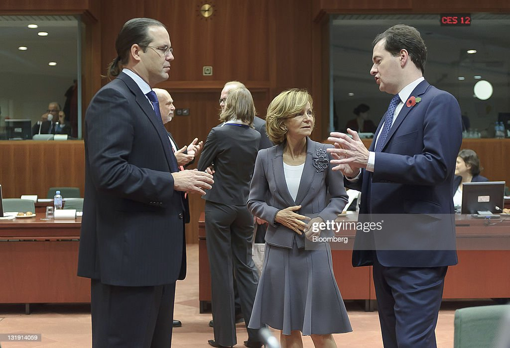 Ecofin Finance Ministers Meet In Brussels