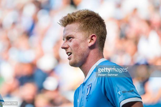 Anders Christiansen of Malmo FF during the Allsvenskan match between Malmo FF and Jonkopings Sodra IF at Swedbank Stadion on July 22 2017 in Malmo...