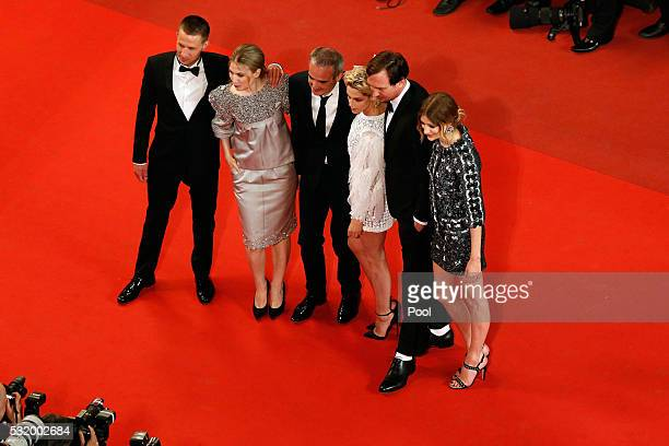 Anders Danielsen Lie Nora von Waldstaetten director Olivier Assayas Kristen Stewart Lars Eidinger and Sigrid Bouaziz attend the 'Personal Shopper'...