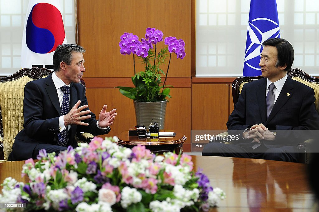 NATO Secretary General Anders Fogh Rasmussen Visits South Korea