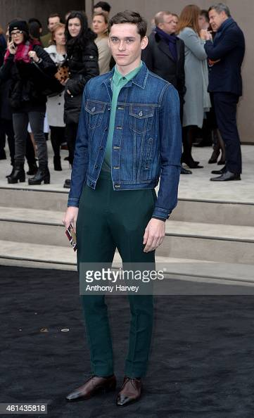 Anders Hayward attends the Burberry Prorsum show at the London Collections Men AW15 on January 12 2015 in London England
