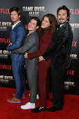 """Premiere Of Netflix's """"Game Over, Man!"""" - Arrivals"""