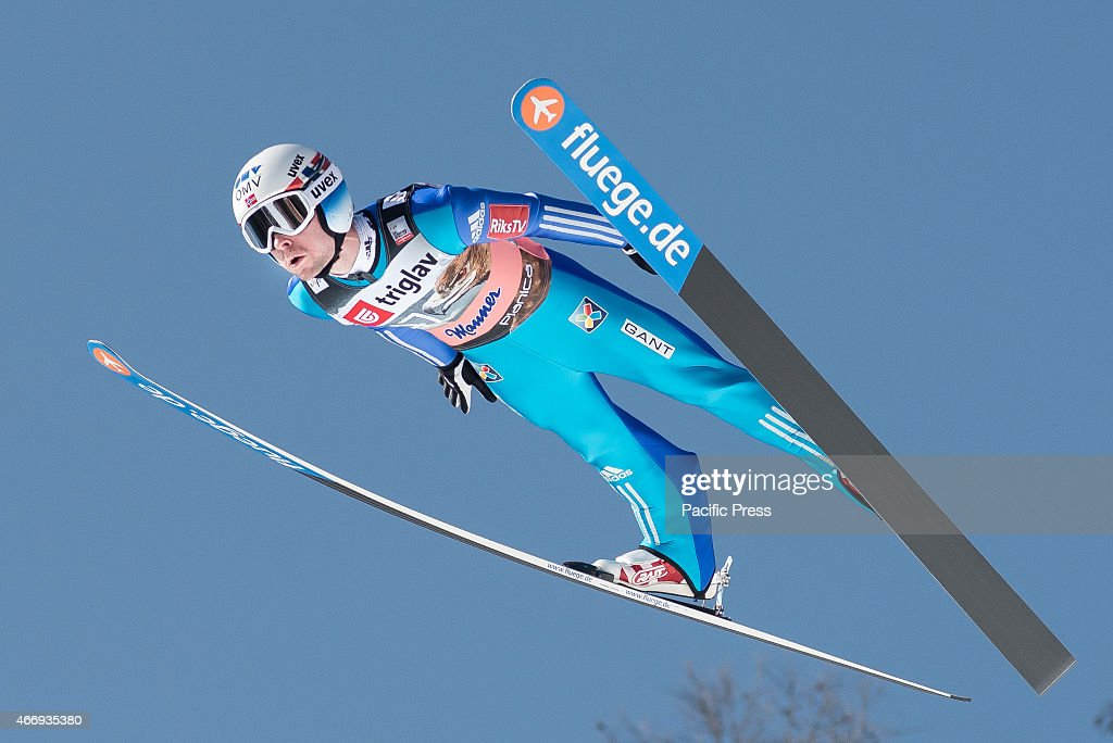 <a gi-track='captionPersonalityLinkClicked' href=/galleries/search?phrase=Anders+Jacobsen+-+Ski+Jumper&family=editorial&specificpeople=12186216 ng-click='$event.stopPropagation()'>Anders Jacobsen</a> of Norway competes during FIS World Cup Planica Flying Hill Individual Ski Jumping. Ski jumping is a form of nordic skiing in which athletes descend a take-off ramp, called an inrun, jump, and fly as far as possible. Points are awarded for distance and style.