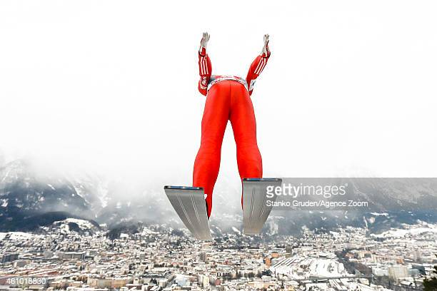 Anders Jacobsen of Norway during the FIS Ski Jumping World Cup Vierschanzentournee on January 04 2015 in Innsbruck Austria