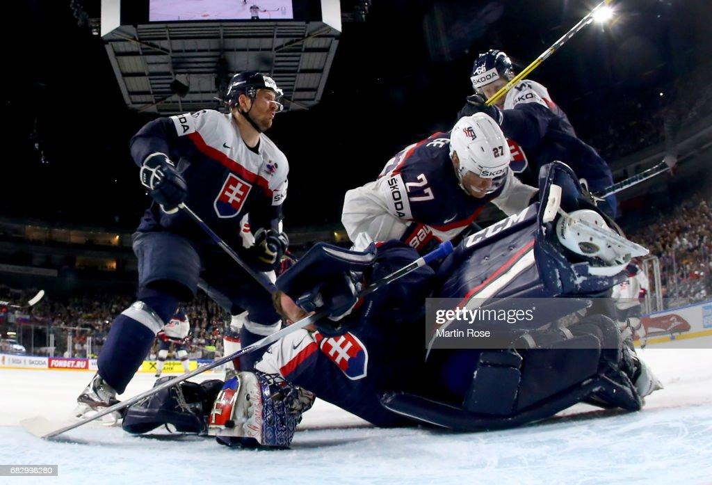 Slovakia v USA - 2017 IIHF Ice Hockey World Championship