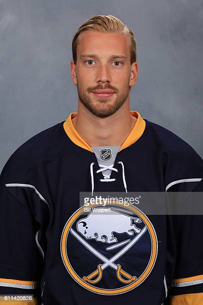 Anders Nilsson of the Buffalo Sabres poses for his official headshot of the 20162017 season on September 22 2016 at the KeyBank Center in Buffalo New...
