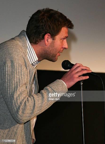 Anders Thomas Jensen director and screenwriter during 2006 Sundance Film Festival 'Adam's Apples' Park City Screening at Library in Park City Utah...