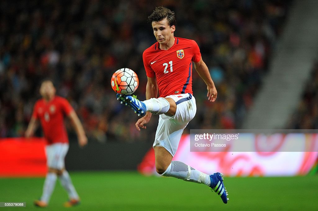Anders Trondsen of Norway during the International Friendly match between Portugal and Norway at Dragao Stadium on May 29, 2016 in Porto, Portugal.