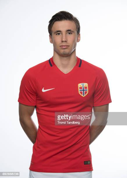 Anders Trondsen of Norway National Team during Photocall at Ullevaal Stadion on June 5 2017 in Oslo Norway
