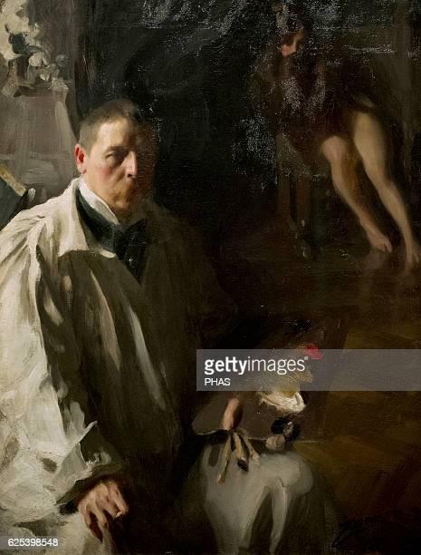 Anders Zorn Swedish painter Selfportrait 1896 National Museum Stockholm Sweden