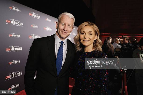 Anderson Cooper and Kelly Ripa attend CNN Heroes 2016 at the American Museum of Natural History on December 11 2016 in New York City 26362_012