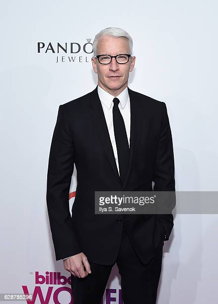 Anderson Cooper attends Billboard Women In Music 2016 Airing December 12th On Lifetime at Pier 36 on December 9 2016 in New York City