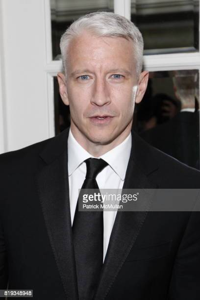 Anderson Cooper attends MUSEUM Of The MOVING IMAGE Dinner In Honor Of KATIE COURIC And PHIL KENT at St Regis Hotel on May 5 2010 in New York City