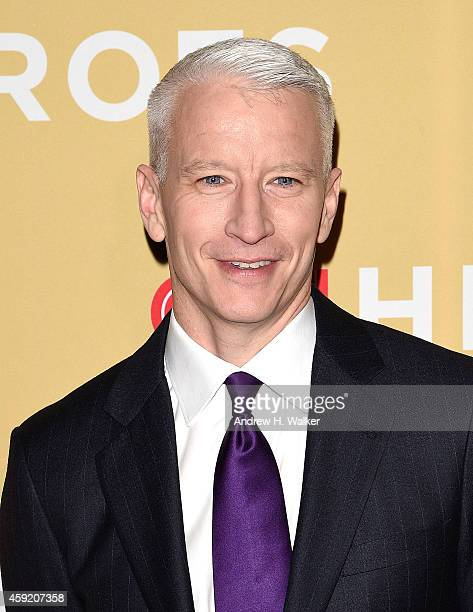 Anderson Cooper attends the 2014 CNN Heroes An AllStar Tribute at the American Museum of Natural History on November 18 2014 in New York City