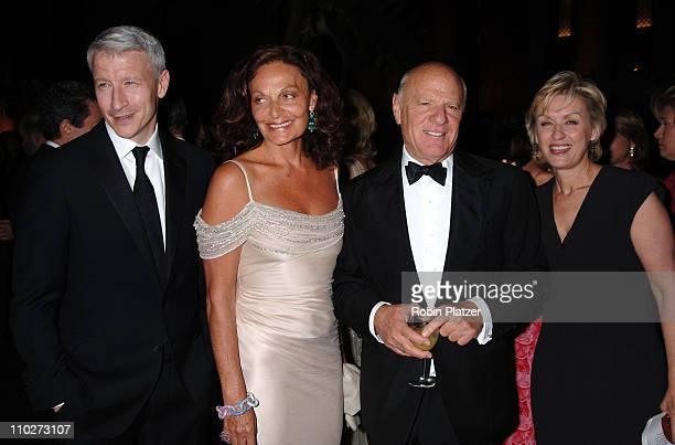 Anderson Cooper Diane Von Furstenberg Barry Diller and Tina Brown