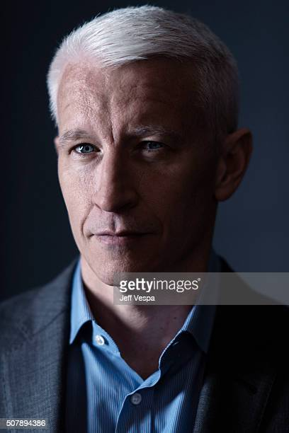 Anderson Cooper of 'Nothing Left Unsaid Gloria Vanderbilt Anderson Cooper' poses for a portrait at the 2016 Sundance Film Festival on January 24 2016...