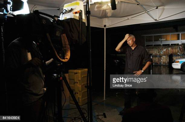 Anderson Cooper reports for CNN from the aftermath of Hurricane Katrina on September 18 2005