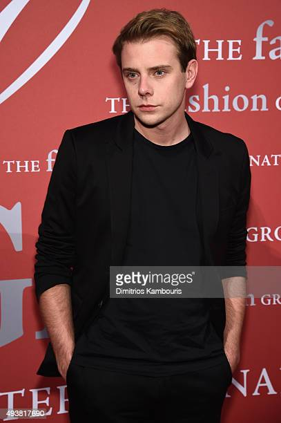 W Anderson designer Jonathan Anderson attends the 2015 Fashion Group International Night Of Stars Gala at Cipriani Wall Street on October 22 2015 in...