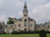 Anderson Hall a campus icon houses the administration offices at Kansas State University in Manhattan Kansas