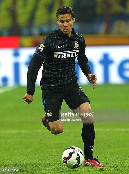 Anderson Hernanes of FC Internazionale Milano in action during the Serie A match between FC Internazionale Milano and AS Roma at Stadio Giuseppe...