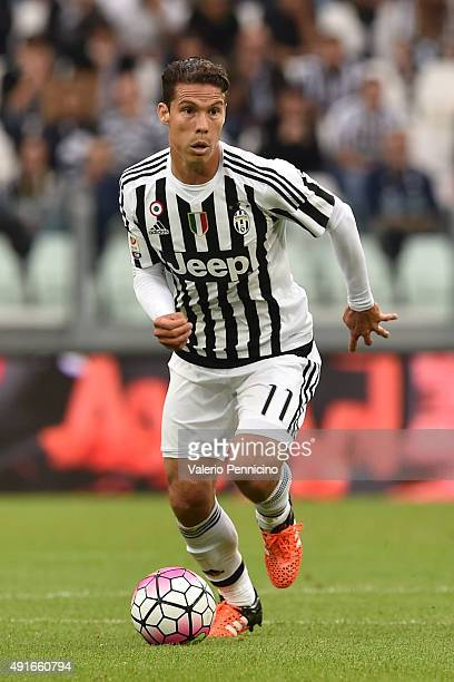 Anderson Hernanes of Juventus FC in action during the Serie A match between Juventus FC and Bologna FC at Juventus Arena on October 4 2015 in Turin...