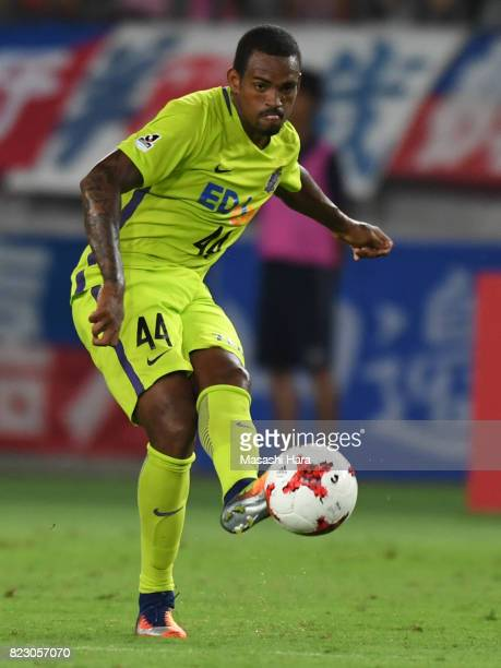 Anderson Lopes of Sanfrecce Hiroshima in action during the JLeague Levain Cup PlayOff Stage first leg match between FC Tokyo and Sanfrecce Hiroshima...