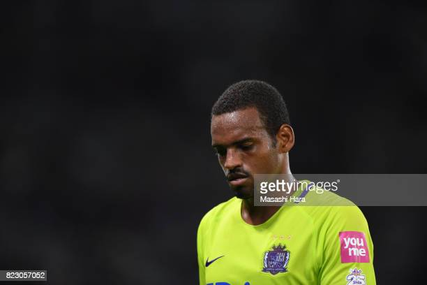 Anderson Lopes of Sanfrecce Hiroshima looks on during the JLeague Levain Cup PlayOff Stage first leg match between FC Tokyo and Sanfrecce Hiroshima...