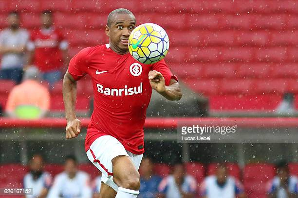 Anderson of Internacional during the match between Internacional and Cruzeiro as part of Brasileirao Series A 2016 at Estadio BeiraRio on November 27...