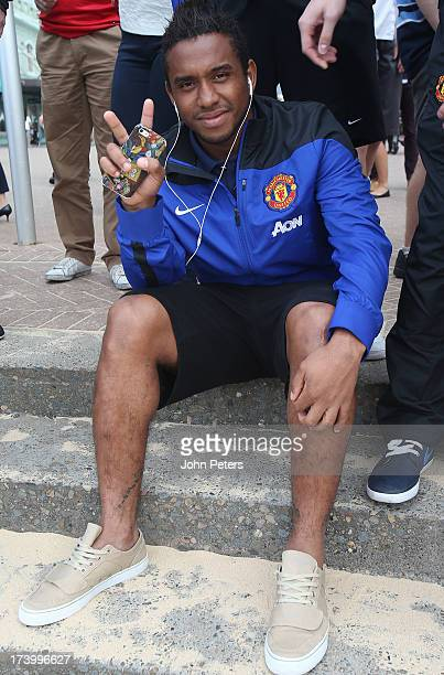 Anderson of Manchester United visits Manley Beach as part of their preseason tour of Bangkok Australia China Japan and Hong Kong on July 19 2013 in...