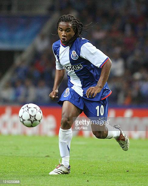 Anderson of Porto during a UEFA Champions League match between Porto and CSKA Moscow in Porto Portugal on September 13 2006