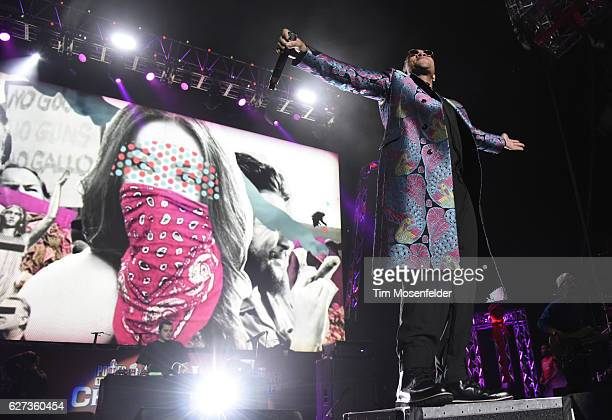 Anderson Paak of Anderson Paak The Free Nationals performs during Power 106's Cali Christmas at The Forum on December 2 2016 in Inglewood California