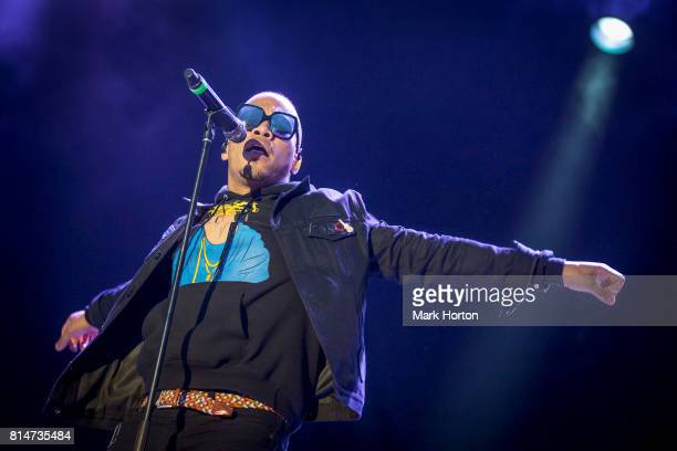 Anderson Paak performs on Day 8 of the RBC Bluesfest on July 14 2017 in Ottawa Canada