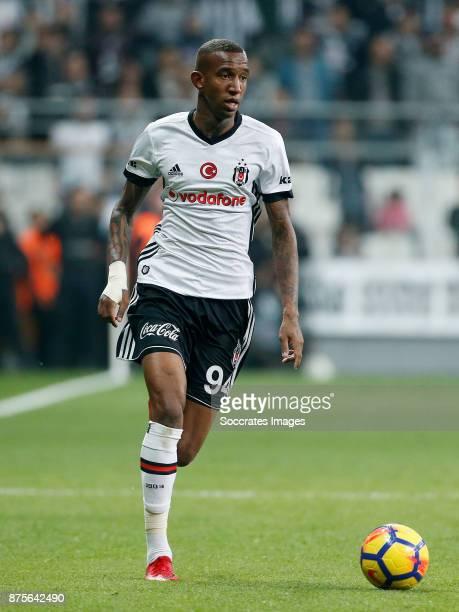 Anderson Talisca of Besiktas during the Turkish Super lig match between Besiktas v Akhisar Belediyespor at the Vodafone Park on November 17 2017 in...