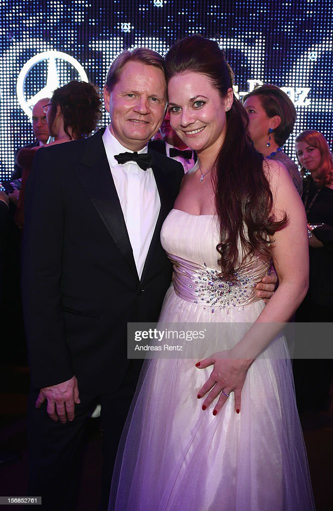 Anders-Sundt Jensen, Mercedes-Benz cars, and guest attend the after show party to the 'BAMBI Awards 2012' at the Stadthalle Duesseldorf on November 22, 2012 in Duesseldorf, Germany.