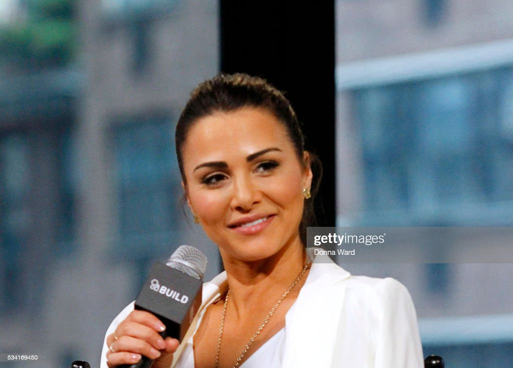 <a gi-track='captionPersonalityLinkClicked' href=/galleries/search?phrase=Andi+Dorfman&family=editorial&specificpeople=12541836 ng-click='$event.stopPropagation()'>Andi Dorfman</a> appears to promote 'It's Not Okay' during the AOL BUILD Series at AOL Studios In New York on May 25, 2016 in New York City.