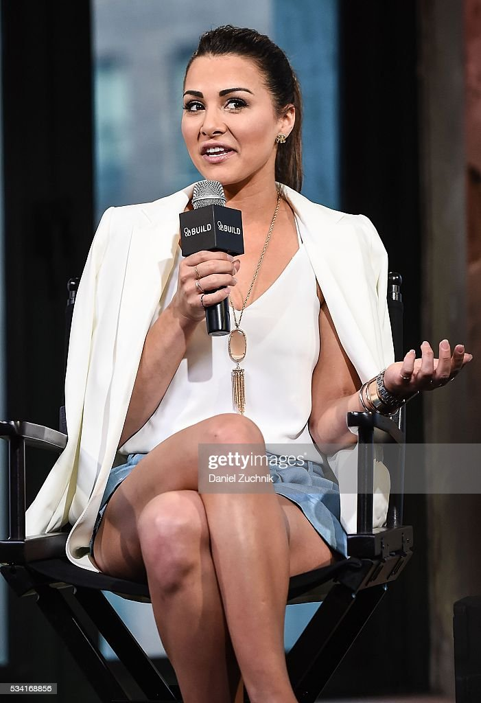 <a gi-track='captionPersonalityLinkClicked' href=/galleries/search?phrase=Andi+Dorfman&family=editorial&specificpeople=12541836 ng-click='$event.stopPropagation()'>Andi Dorfman</a> attends AOL Build to discuss her book 'It's Not Okay' at AOL Studios on May 25, 2016 in New York City.