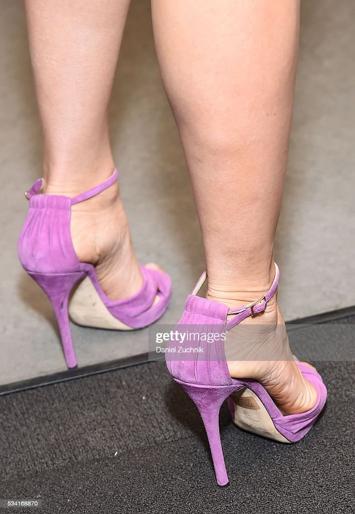 <a gi-track='captionPersonalityLinkClicked' href=/galleries/search?phrase=Andi+Dorfman&family=editorial&specificpeople=12541836 ng-click='$event.stopPropagation()'>Andi Dorfman</a>, heels detail, attends AOL Build to discuss her book 'It's Not Okay' at AOL Studios on May 25, 2016 in New York City.