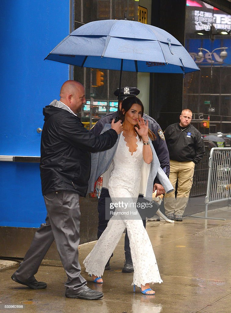 Andi Dorfman is seen walking in Soho on May 24, 2016 in New York City.