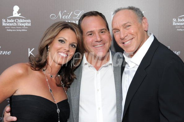b4825aa57 Andie Light, CEO Kay Jewelers Mark Light and jewelry designer Neil Lane  arrive at celebrated jewelry designer Neil Lane's debut of his new bridal  collection ...
