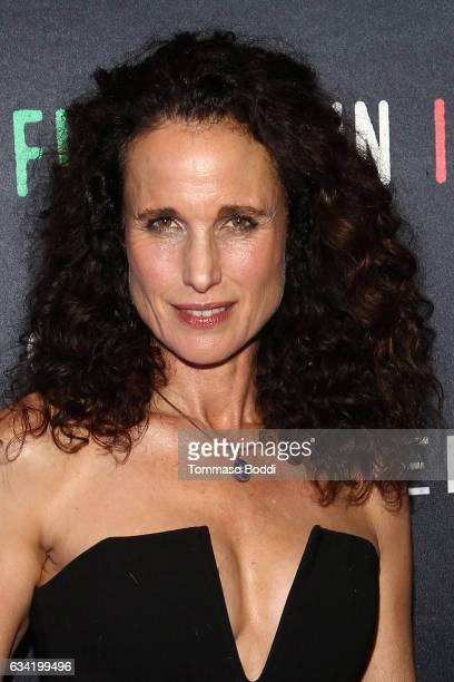 Andie MacDowell attends the Filming In Italy Festival held at Italian Cultural Institute on February 7 2017 in Los Angeles California