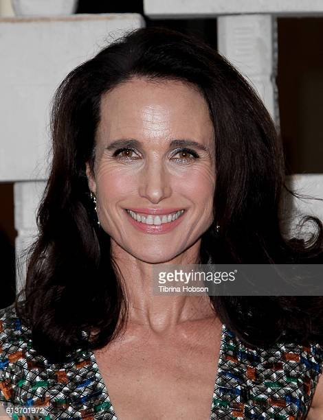 Andie MacDowell attends the Hammer Museum's 14th annual Gala In The Garden at Hammer Museum on October 8 2016 in Westwood California
