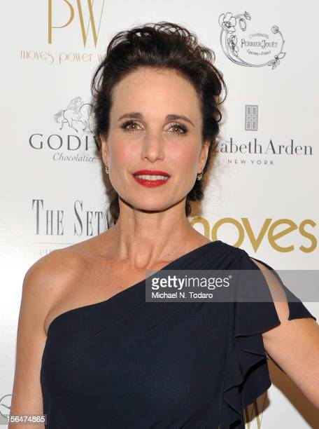 Andie MacDowell attends The Moves Power Women Awards Gala 2012 at The Setai Fifth Avenue on November 15 2012 in New York City