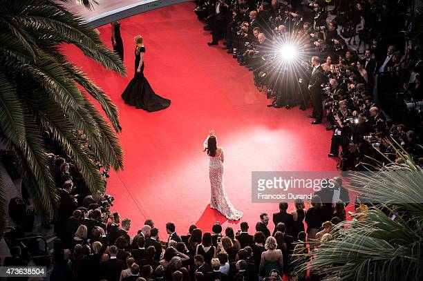 Andie MacDowell attends the Premiere of 'The Sea Of Trees' during the 68th annual Cannes Film Festival on May 16 2015 in Cannes France