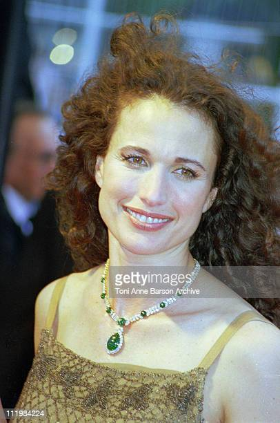 Andie MacDowell during 51st Cannes Film Festival in Cannes France